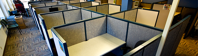 Cubicles are not thinking outside the box
