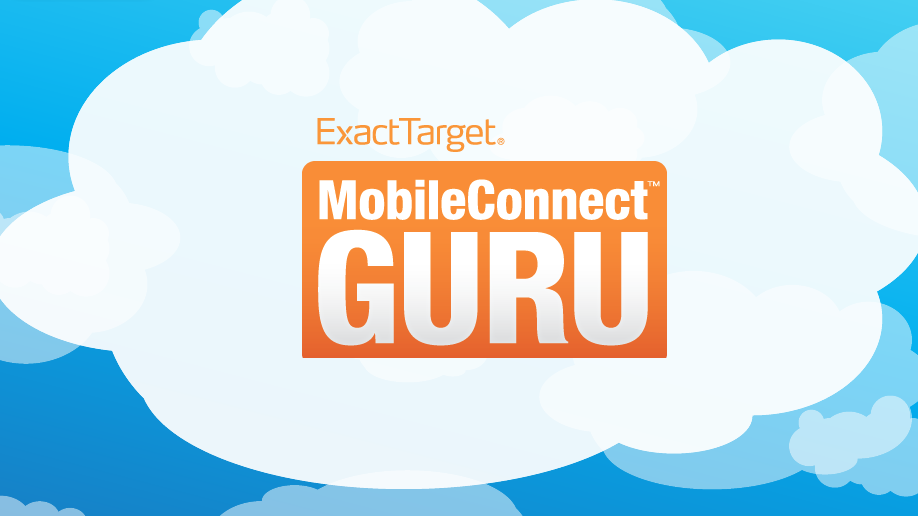 ExactTarget MobileConnect Guru used the Knowledge Guru game engine.