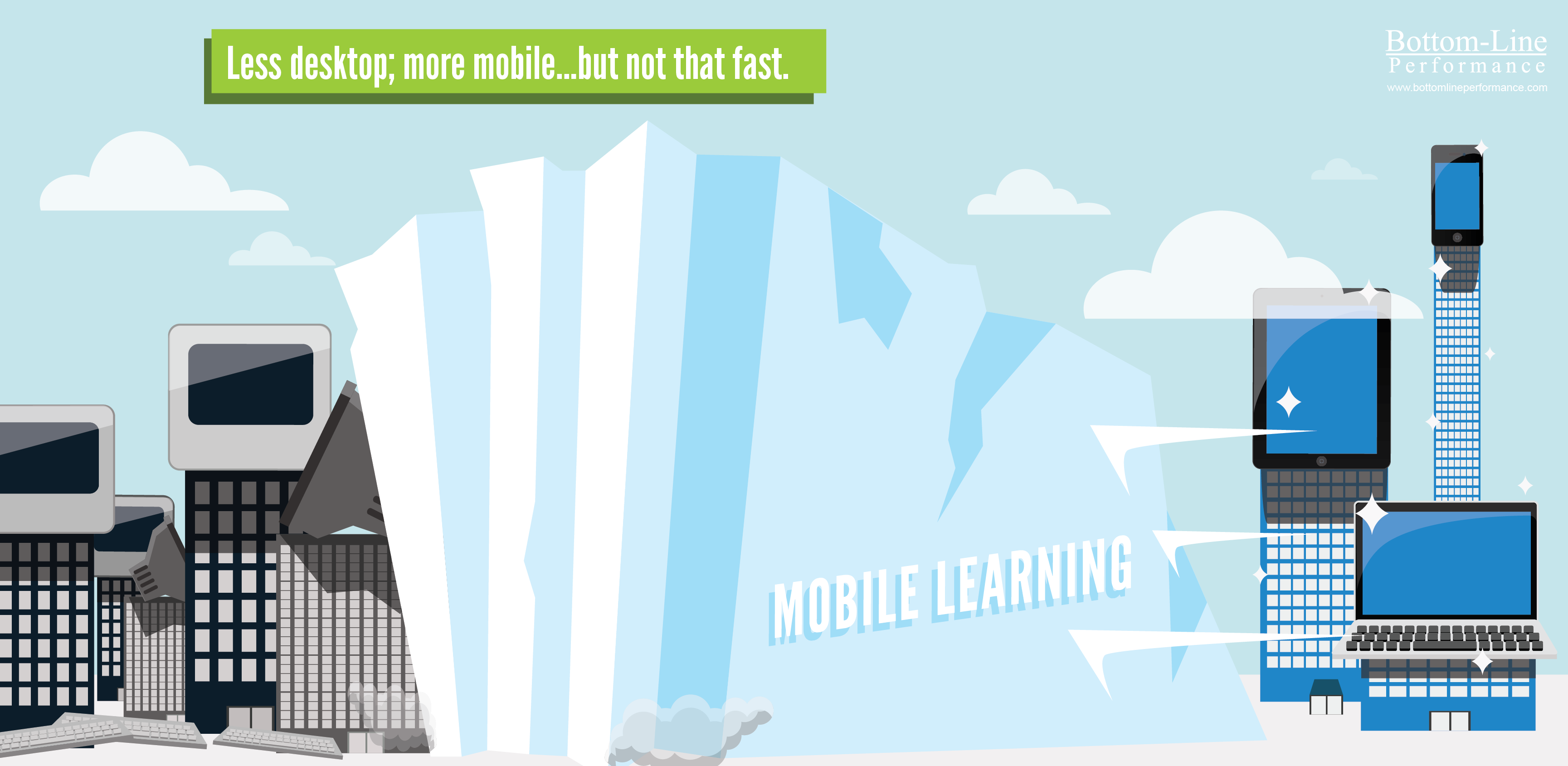 Mobile Learning - Glacier, Not Waterfall