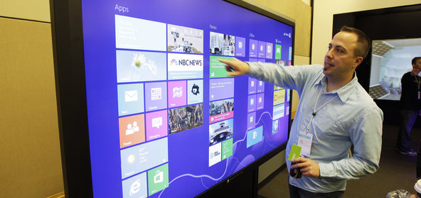 Microsoft Touch Screens