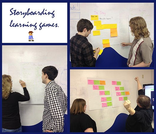 Storyboarding Learning Games