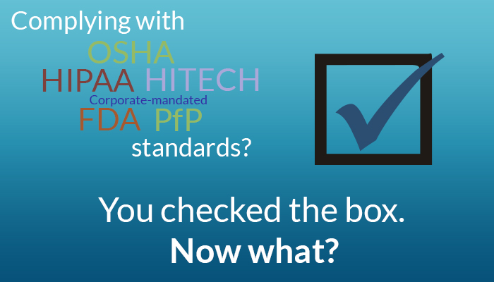 Compliance Training - Why Checked the Box... Now What?