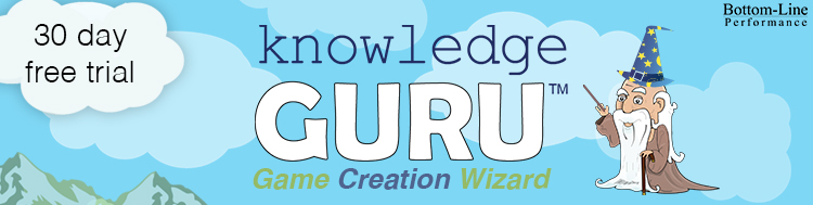 Knowledge Guru Game Creation Wizard - Free Trial