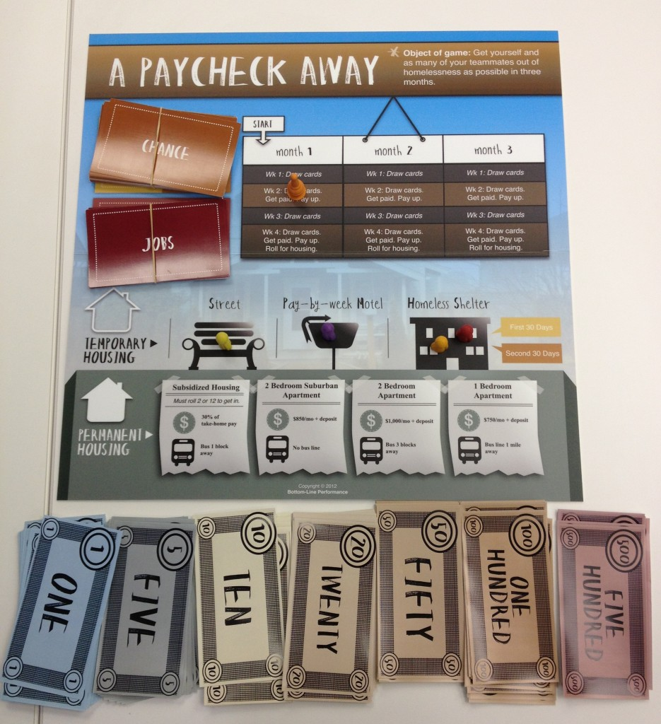A Paycheck Away - Game as Primary Learning Method