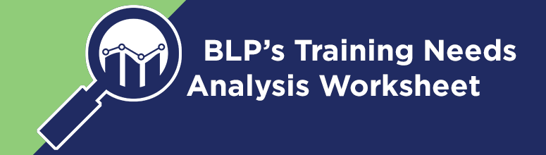 Training Needs Analysis Banner