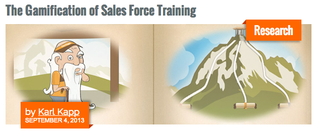 Gamification, Sales Force Training