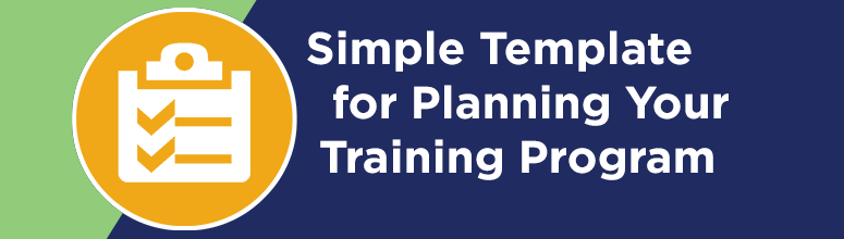 Training Template Banner