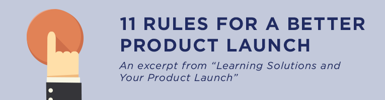 11 Rules for a Better Product Launch Banner