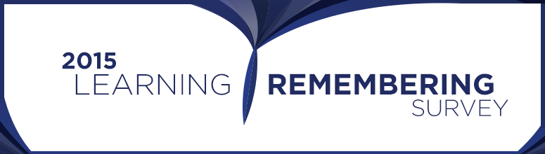 2015 Learning and Remembering Survey
