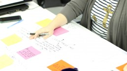 Designing a product launch curriculum.